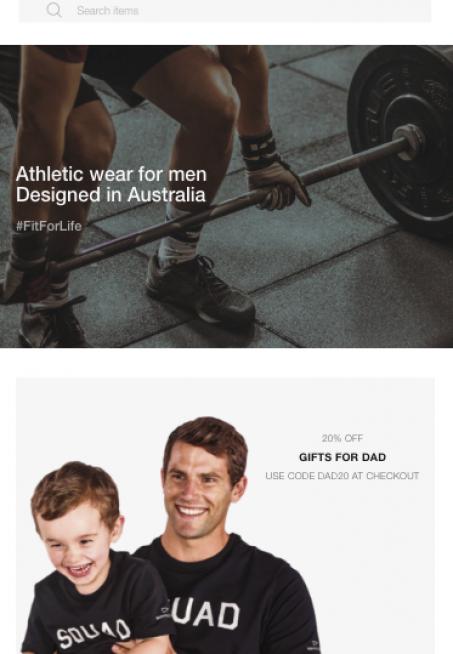 SQD Homepage mobile